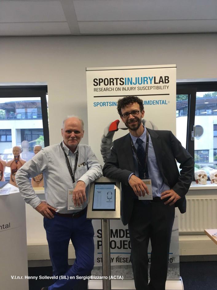 Gezamenlijk onderzoeksproject SportsInjuryLab, ACTA en UZGENT